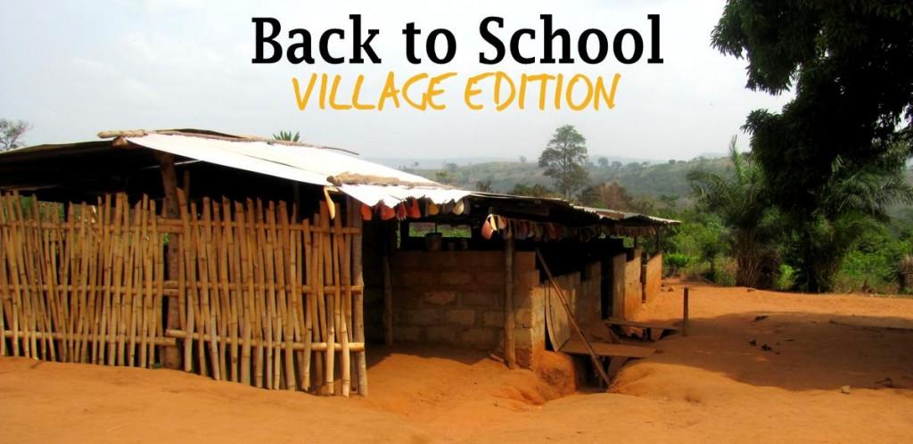 Back to School V. ED website frontpage