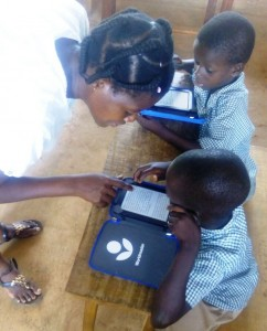 Kindle e-readers Ghana literacy program